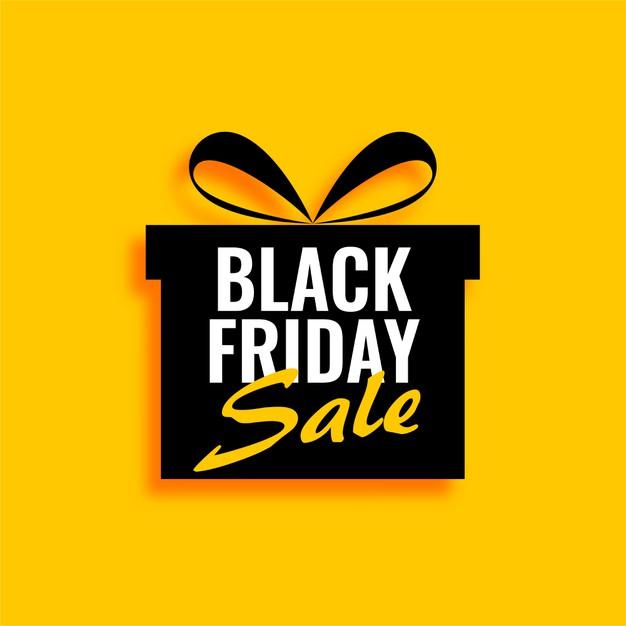 venda de presente de sexta feira negra em fundo amarelo 1017 28718